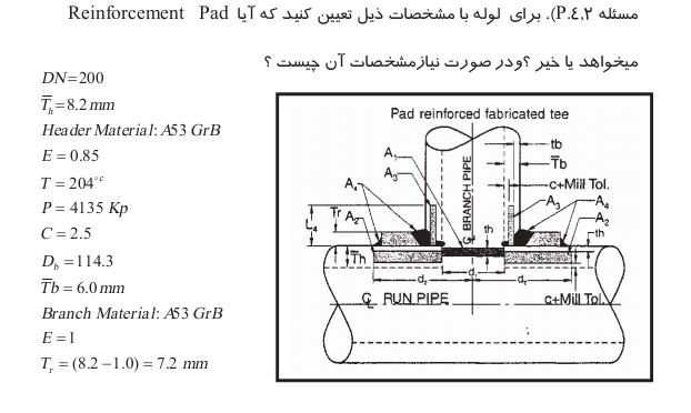 محاسبات مهندسی پایپینگ